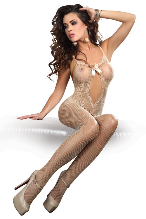MAGALI Bodystocking, beige