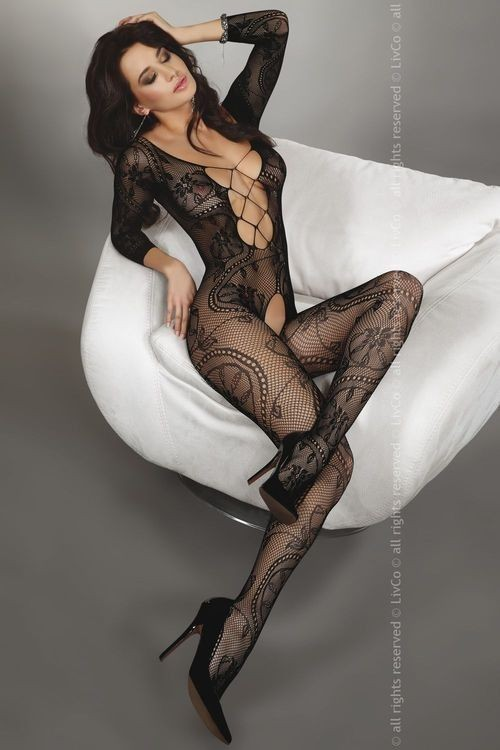 ZITA Bodystocking, schwarz